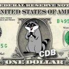 MEEKO - Pocahontas - REAL Dollar Bill Disney Cash Money Memorabilia Collectible