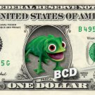 PASCAL Tangled - REAL Dollar Bill Disney Cash Money Memorabilia Collectible