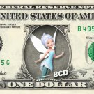 PERIWINKLE - Secret of Wings - REAL Dollar Bill Disney Cash Money Memorabilia