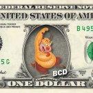 PHILOCTETES Hercules REAL Dollar Bill Disney Cash Money Memorabilia Collectible