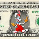 Who framed ROGER RABBIT on REAL Dollar Bill Disney Cash Money Memorabilia