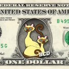 SI & AM Lady Tramp - REAL Dollar Bill Disney Cash Money Memorabilia Collectible
