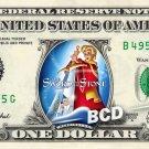 SWORD IN THE STONE - REAL Dollar Bill Disney Cash Money Memorabilia Collectible