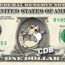 THUMPER - Bambi - REAL Dollar Bill Disney Cash Money Memorabilia Collectible