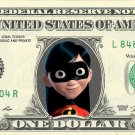 VIOLET PARR - The Incredibles - REAL Dollar Bill Disney Cash Money Memorabilia