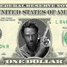 RICK GRIMES Andrew Lincoln Walking Dead REAL Dollar Bill Cash Money Memorabilia