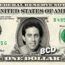 JERRY SEINFELD on REAL Dollar Bill Collectible Celebrity Cash Memorabilia Money