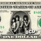 MOTLEY CRUE on REAL Dollar Bill Cash Money Memorabilia Collectible Celebrity