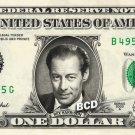 REX HARRISON My Fair Lady on REAL Dollar Bill Cash Money Memorabilia Collectible