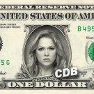 RONDA ROUSEY Real Dollar Bill UFC Cash Money Memorabilia Collectible Celebrity $