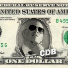 PIT BULL on REAL Dollar Bill Pitbull Singer Cash Money Memorabilia Collectible