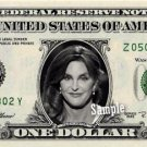 CAITLYN JENNER on REAL Dollar Bill Kardashian Collectible Cash Memorabilia Money