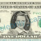 JUDY GARLAND on a REAL Dollar Bill Cash Money Memorabilia Collectible Celebrity