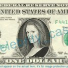 JULIANNE MOORE on REAL Dollar Bill Cash Money Memorabilia Collectible Celebrity