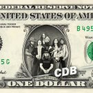 LYNYRD SKYNYRD on REAL Dollar Bill Cash Money Memorabilia Collectible Celebrity