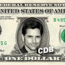 JOHN STAMOS on a REAL Dollar Bill Cash Money Memorabilia Collectible Celebrity