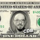 IAN ANDERSON on a REAL Dollar Bill Cash Money Memorabilia Collectible Celebrity