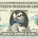 NELLY Rapper on a REAL Dollar Bill Cash Money Memorabilia Collectible Celebrity