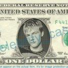 NICK CARTER Backstreet Boys on REAL Dollar Bill Cash Money Memorabilia Celebrity
