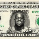 APOLLO CREWS on REAL Dollar Bill WWE Cash Money Memorabilia Collectible Celebrity