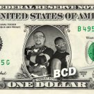 The DUDLEY BOYZ on a REAL Dollar Bill WWE Bubba Ray D-Von Cash Money Memorabilia
