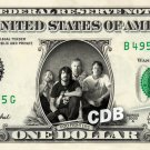 FOO FIGHTERS on a REAL Dollar Bill Cash Money Memorabilia Collectible Celebrity
