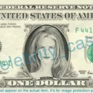 NICOLE KIDMAN on a REAL Dollar Bill Cash Money Memorabilia Collectible Celebrity