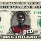 ANTMAN on a REAL Dollar Bill Marvel Ant Man Disney Cash Money Memorabilia