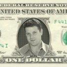 SEAN ASTIN on REAL Dollar Bill Cash Money Memorabilia Collectible Celebrity Bank