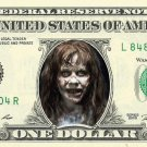 EXORCIST on a REAL Dollar Bill Cash Money Memorabilia Collectible Celebrity Bank
