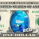 FINDING DORY Movie on a REAL Dollar Bill Disney Cash Money Memorabilia Celebrity