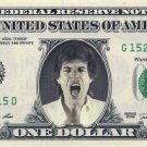 MICK JAGGER on a REAL Dollar Bill Cash Money Memorabilia Collectible Celebrity