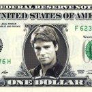 MACGYVER on a REAL Dollar Bill Cash Money Memorabilia Collectible Celebrity Bank