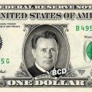 MARTIN SHEEN on a REAL Dollar Bill Cash Money Memorabilia Collectible Celebrity
