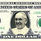 POPE FRANCIS on a REAL Dollar Bill Cash Money Memorabilia Collectible Celebrity