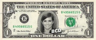 DANIKA PATRICK on REAL Dollar Bill Cash Money Memorabilia Collectible Celebrity