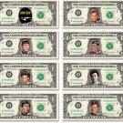 STAR TREK 8-set The Original Series Collector Pack on REAL DOLLAR Bills TOS Cash