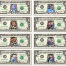 Disney's 8-set FROZEN Moments Collection on REAL DOLLAR BILL Money Cash Disney