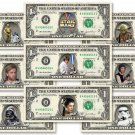 STAR WARS 9-set REAL Dollar Bill Collection - Money Cash Gift