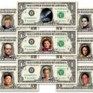STAR TREK VOYAGER 9-set Collector Pack on REAL DOLLAR Bills Cash Collectible $