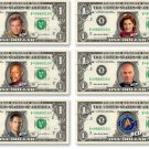 Star Trek - Captain's Collection on REAL Money Cash Bank Note Dollar Currency