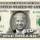 JOE BIDEN on REAL Dollar Bill Cash Money Memorabilia Collectible Celebrity Bank