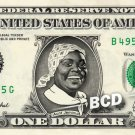 AUNT JEMIMA on a REAL Dollar Bill Cash Money Memorabilia Collectible Celebrity