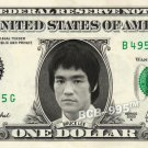 BRUCE LEE on REAL Dollar Bill Cash Money Memorabilia Collectible Celebrity Note