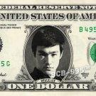 BRUCE LEE on a REAL Dollar Bill - Collectible Celebrity Cash Memorabilia Money