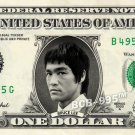 BRUCE LEE on a REAL Dollar Bill Collectible Celebrity Cash Memorabilia Money $$