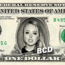 TIFFANY TRUMP on a REAL Dollar Bill Cash Money Collectible Memorabilia Celebrity