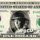 NEIL YOUNG on REAL Dollar Bill Cash Money Bank Note Currency Dinero Celebrity