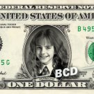 HERMIONE GRANGER Emma Watson Harry Potter on REAL Dollar Bill Cash Money