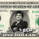 SCARFACE Tony Montana Al Pacino on Dollar Bill Cash Money Collectible Celebrity